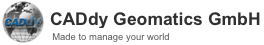CADdy Geomatics GmbH Logo