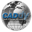 Logotip CADdy Geomatics